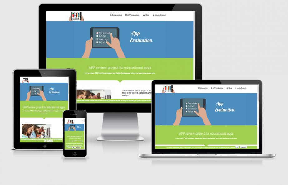 APP Evaluations-Portal für Schulen, ERASMUS+