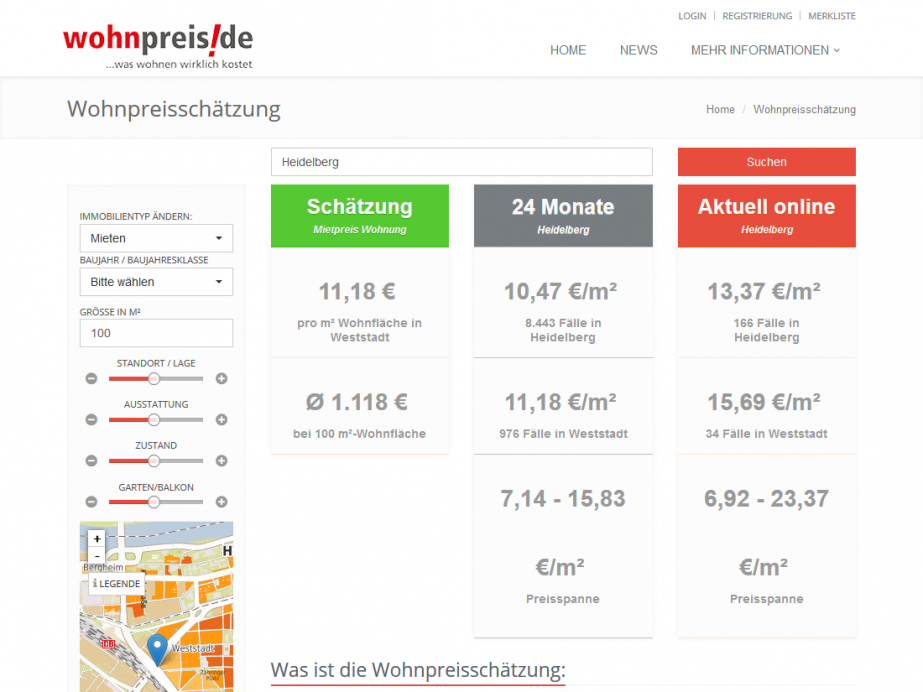wohnpreis-mieten-TYPO3 Modulprogrammierung für wohnpreis.de – IIB, Schwetzingen – Mietpreise Heidelberg-1100