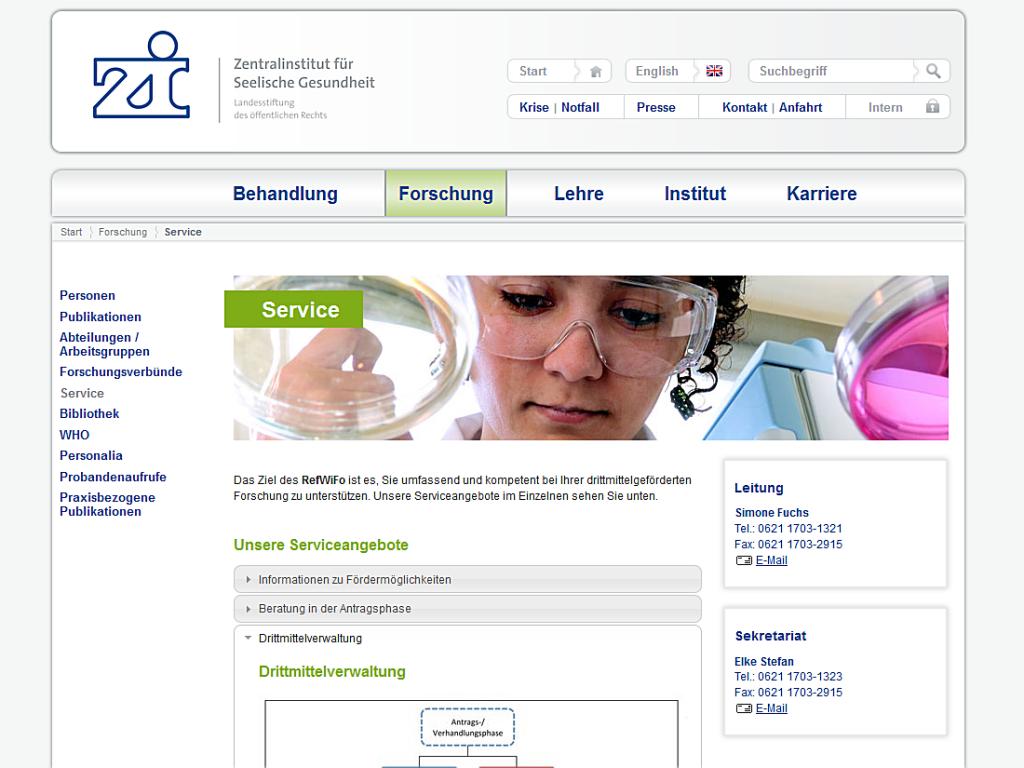 zi-mannheim Service – Internet Agentur Heidelberg