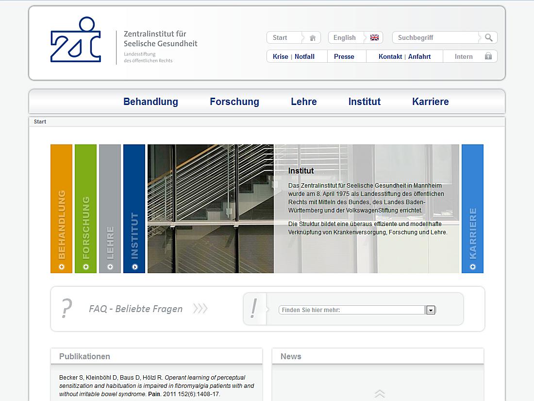 zi-mannheim Startseite - Internet Agentur Heidelberg