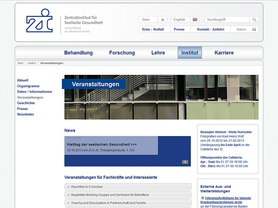 zi-mannheim Veranstaltung Webseite